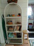 Shelving unit like a plastic wicker 1 2 3 4 5 shelves for Sale in Pine Ridge, FL
