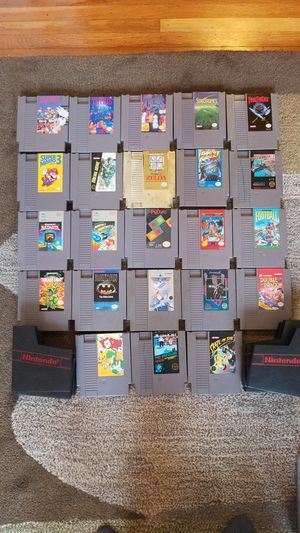 Nintendo NES games lot (23) for Sale in San Francisco, CA