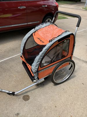 Avenir Dual Sport Bike Trailer with Stroller Kit for Sale in Sugar Land, TX