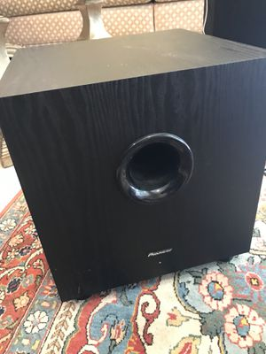 Pioneer Subwoofer for Sale in Los Angeles, CA