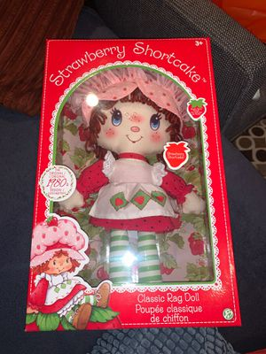 Strawberry ShortCake Classic Rag Doll for Sale in Los Angeles, CA