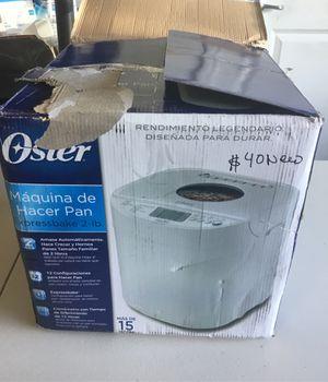 OSTER BREAD MAKER for Sale in Las Vegas, NV