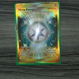 Authentic Pokemon Card Warp Energy Secret Rare Crimson Invasion. Mint. for Sale in Middleburg, FL