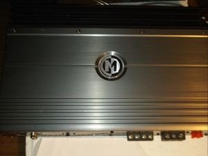 Memphis power reference two channel amp for Sale in Indianapolis, IN