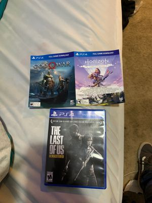 PS4 games 3 for the price of one for Sale in Napa, CA