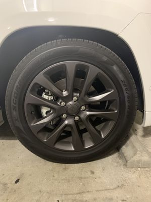 "Jeep wheels High Altitude 20"" Dark Graphite for Sale in Tampa, FL"