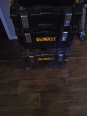 DeWalt box for Sale in Irving, TX