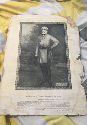 General Lee's Farewell address to his army for Sale in Crewe, VA