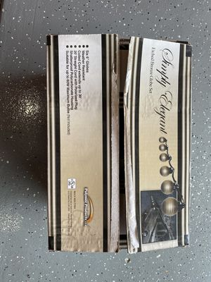 SIMPLY ELEGANT ETCHED BRONZE GLOBE SET RV/CAMPER LIGHT for Sale in Inverness, IL