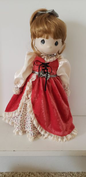 "Precious moments Four Seasons Limited Edition Porcelain Bisque Doll ""Autumn"" for Sale in HUNTINGTN BCH, CA"