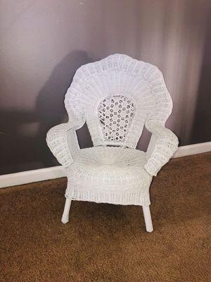 Kids wicker chair for Sale in Romeoville, IL