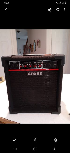 STONE SB15 PORTABLE GUITAR AMP for Sale in Lake Stevens, WA
