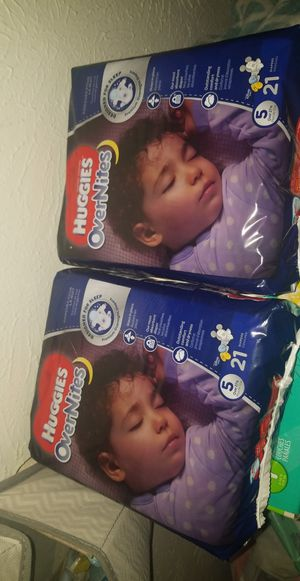 Size 5 Diapers for Sale in Dallas, TX