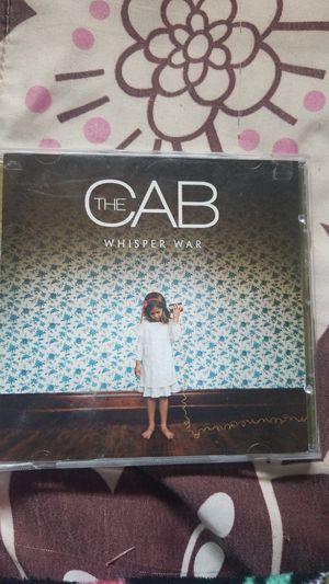 The Cab whisper war CD album for Sale in Carmichael, CA