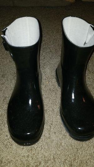 Tewg Black Rain Boots for Sale in Lithia Springs, GA