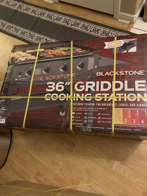 "Black Stone 36"" Griddle for Sale in Salt Lake City, UT"