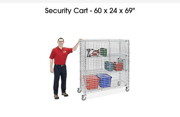 Security Cart One more left