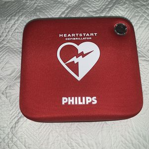 Phillips Heartstart HS1 Onsite AED M5066A With A Spare Set Of Adult Pads for Sale in Arlington, VA