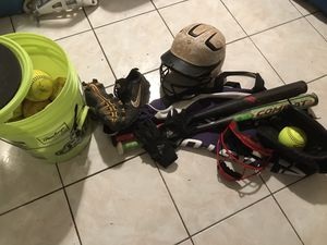 Girls Softball Equipment for Sale in Dania Beach, FL