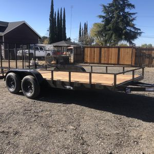 2020 Utility Trailer Tandem Axle 7x16 for Sale in Yucaipa, CA