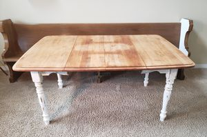 Gorgeous Antique Farm Style Drop-leaf Table for Sale in Orting, WA