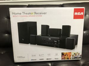 RCA Bluetooth Home Theater System, RT2781HB for Sale in Charlotte, NC