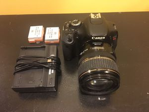 Canon EOS T3i 18MP Digital SLR DLSR Camera w/ EF-S 17-85MM Lens & 2 Batteries for Sale in Eastpointe, MI