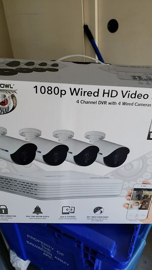 1080p wired night cameras for Sale in Stockton, CA