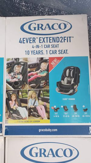 4ever extended 2fit car seat graco for Sale in Fontana, CA