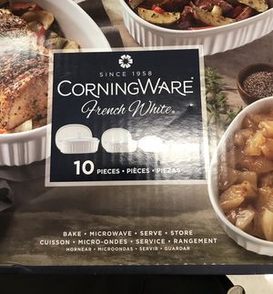 NEW 10 piece CorningWare for Sale in Downey, CA