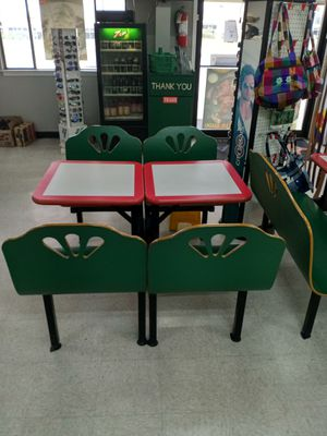 Table and chairs commercial grade for Sale in Austin, TX