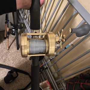 Seeker Rod With Shimano Calcutta 400 Reel for Sale in Cypress, CA