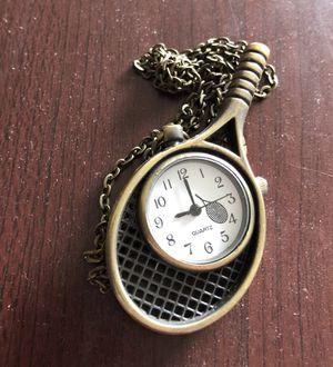Tennis Pocket Watch Necklace for Sale in Denver, CO