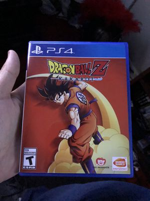 DRAGONBALL Z kakarot Ps4 for Sale in Moreno Valley, CA