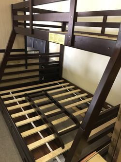 Twin/ full bunk bed frame for Sale in Norcross,  GA