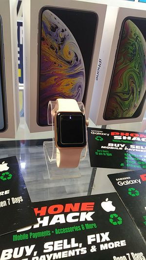 Apple watch series 3 38m for Sale in Tinley Park, IL