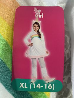Unicorn costume girls XL (14-16) for Sale in Gilroy,  CA