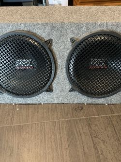 """Mtx 12"""" Subs With Box for Sale in Anaheim,  CA"""