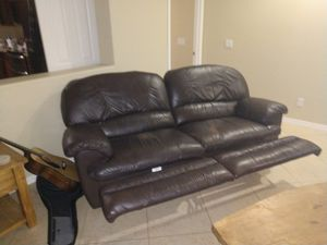 Lazyboy couch with recliners for Sale in Gilbert, AZ