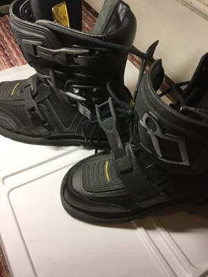 Motorcycle boots size 10 for Sale in Everett, WA