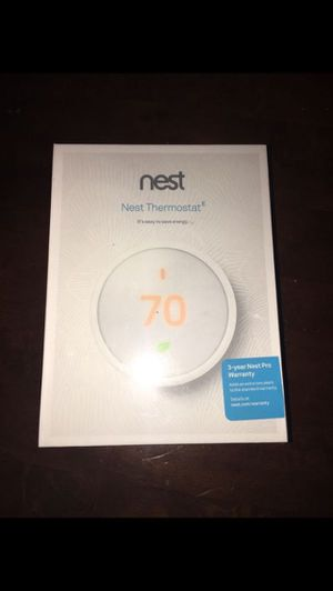 Nest thermostat for Sale in El Monte, CA