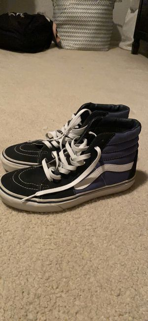 Vans Sk8 High WORN ONCE! Men size 7.5, Women size 9 for Sale in Mission Viejo, CA