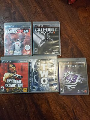 PS3 GAME LOT for Sale in New Britain, CT