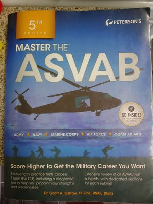 Asvab book for Sale in Moreno Valley, CA