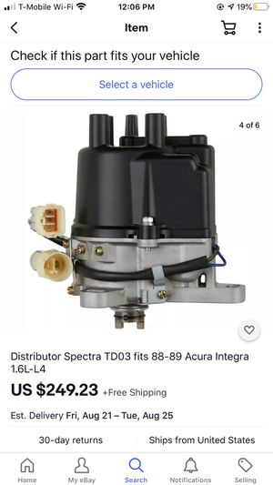 OEM Acura integra distributer assembly for Sale in Vista, CA