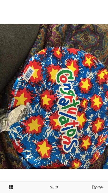 Brand New Helium Balloons
