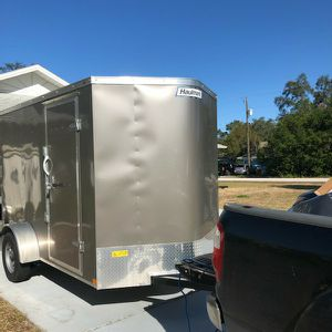 2021 Enclosed Trailer 6x12 Brand New for Sale in Brookfield, CT