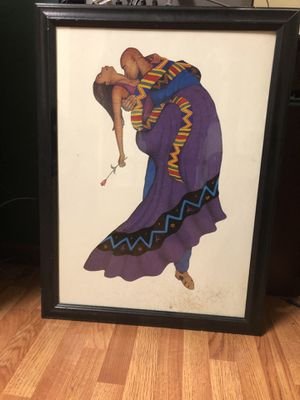 Black love painting $20 for Sale in Philadelphia, PA