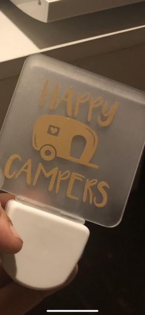 Happy campers night light for Sale in Dayton, OH