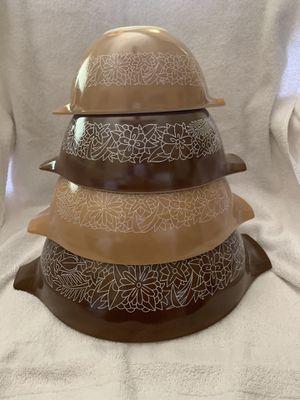 Vintage Pyrex Cinderella Nesting Bowls for Sale in Los Angeles, CA